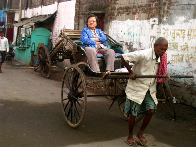 rickshaw, chinese, calcutta, india, tangra, chinatown, overseas chinese, indian