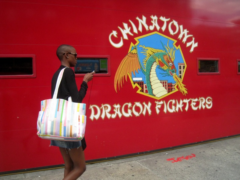 New York, Manhattan, Chinatown Dragon Fighters, Chinese, hipster