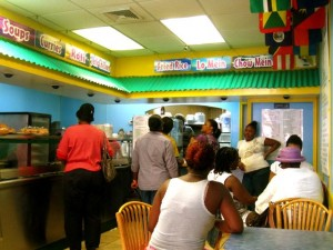 """de bamboo express"", chinese, jamaican, food, restaurant"